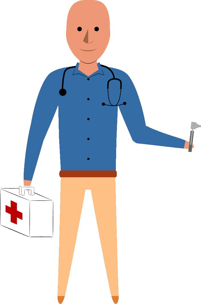 Illustation Arnaud en docteur