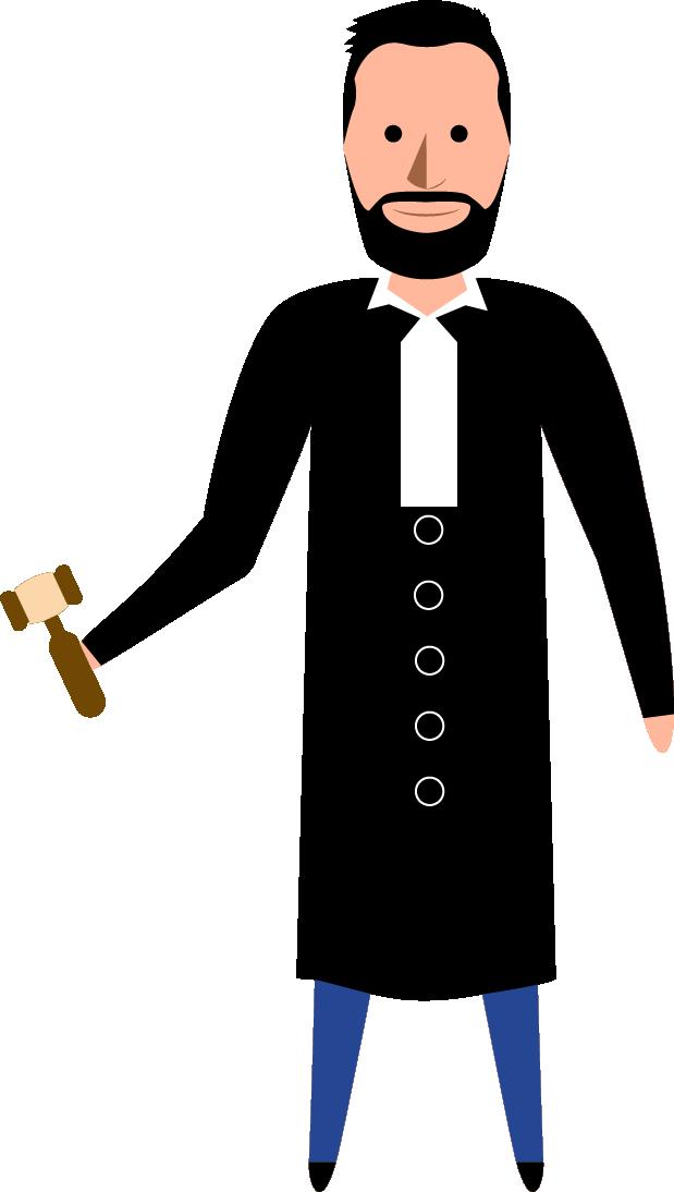 Illustation Matthieu en juge